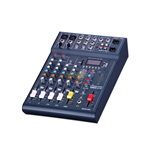 Mixer audio STUDIOMASTER CLUB XS6 c/effetti - lettore MP3/USB/SD - registrazione USB/SD